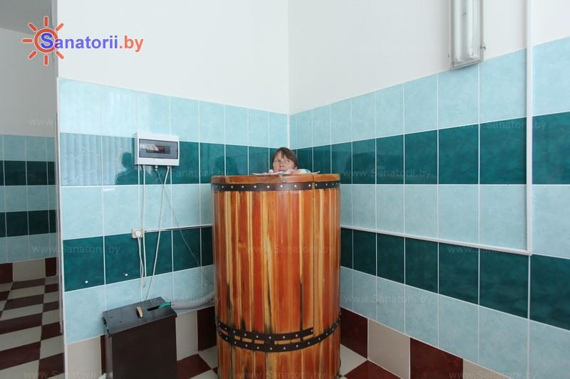 Санатории Белоруссии Беларуси - ДРОЦ Жемчужина - Сауна-мини Кедровая бочка