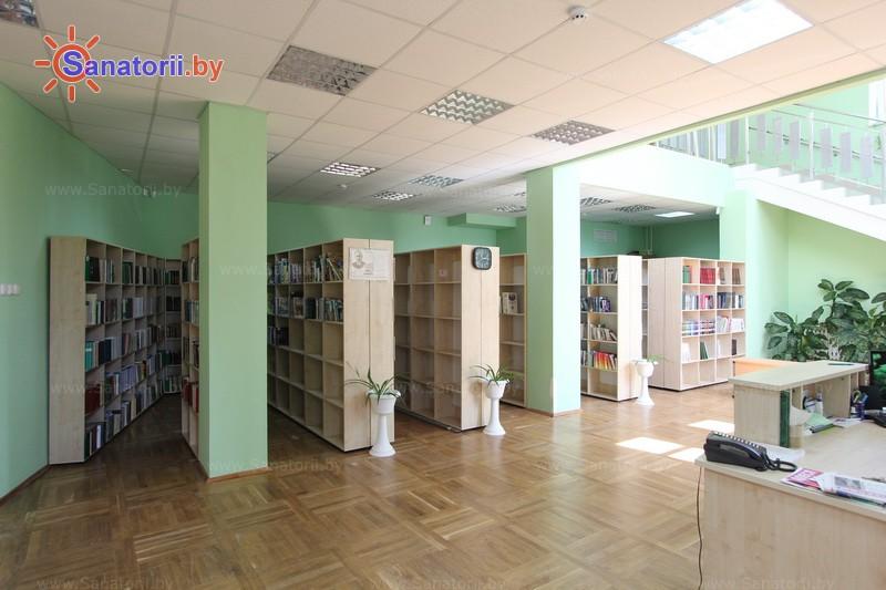Санатории Белоруссии Беларуси - ДРОЦ Жемчужина - Библиотека