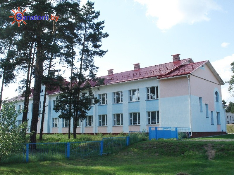 Санатории Белоруссии Беларуси - ДРОЦ Пралеска - школьный корпус