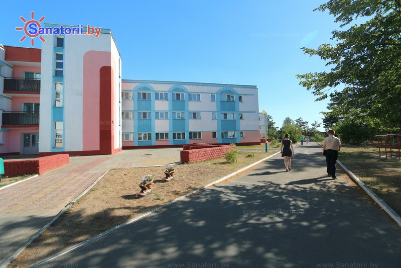Санатории Белоруссии Беларуси - ДРОЦ Пралеска - корпуса А, Б, В