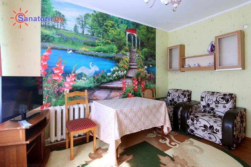 Санатории Белоруссии Беларуси - ДРОЦ Пралеска - двухместный двухкомнатный (корпус №1)