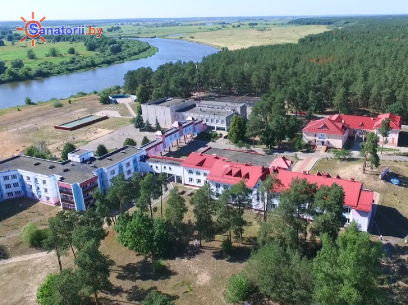 Санатории Белоруссии Беларуси - ДРОЦ Пралеска - Территория и природа
