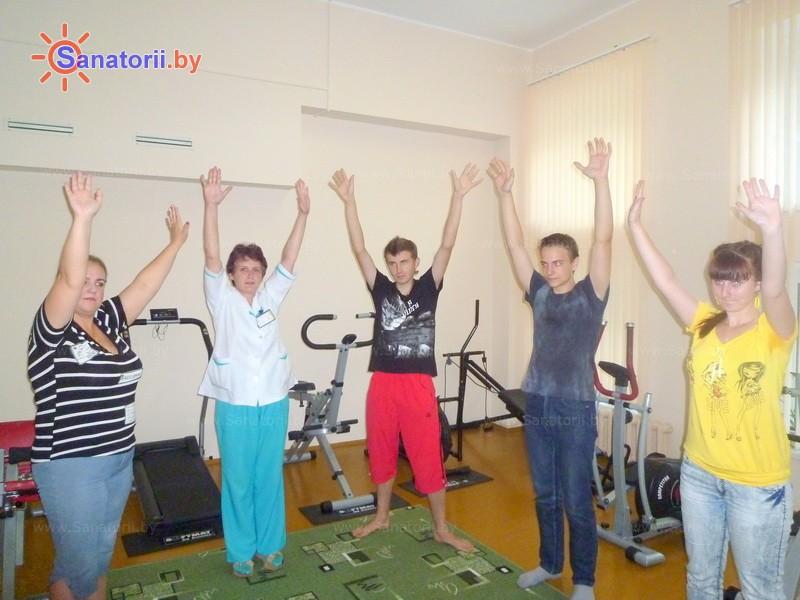 Санатории Белоруссии Беларуси - ДРОЦ Пралеска - Лечебная физкультура (ЛФК)