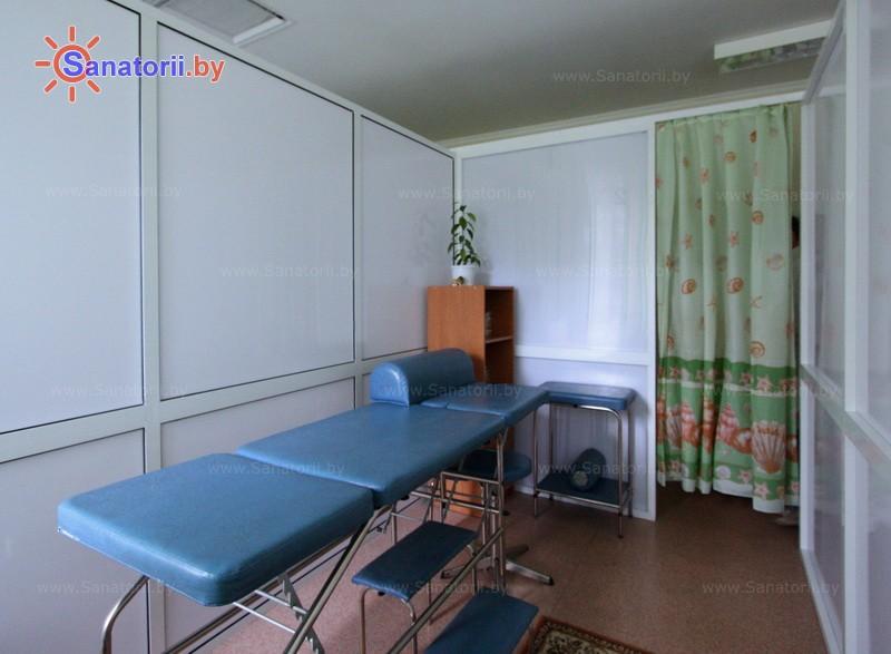 Санатории Белоруссии Беларуси - детский санаторий Случь - Массаж ручной