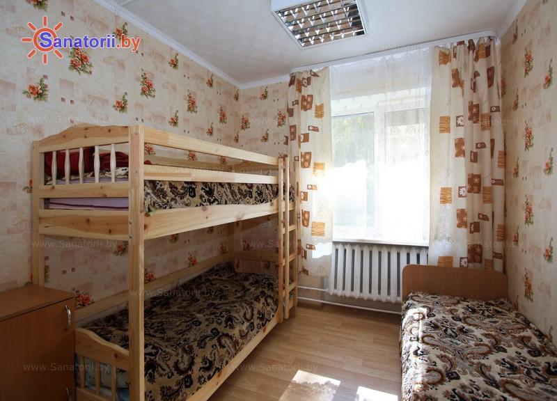 Санатории Белоруссии Беларуси - детский санаторий Случь - трехместный однокомнатный (корпус №2)