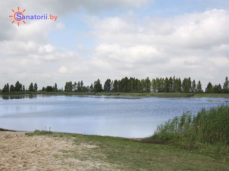 Санатории Белоруссии Беларуси - детский санаторий Случь - Водоём