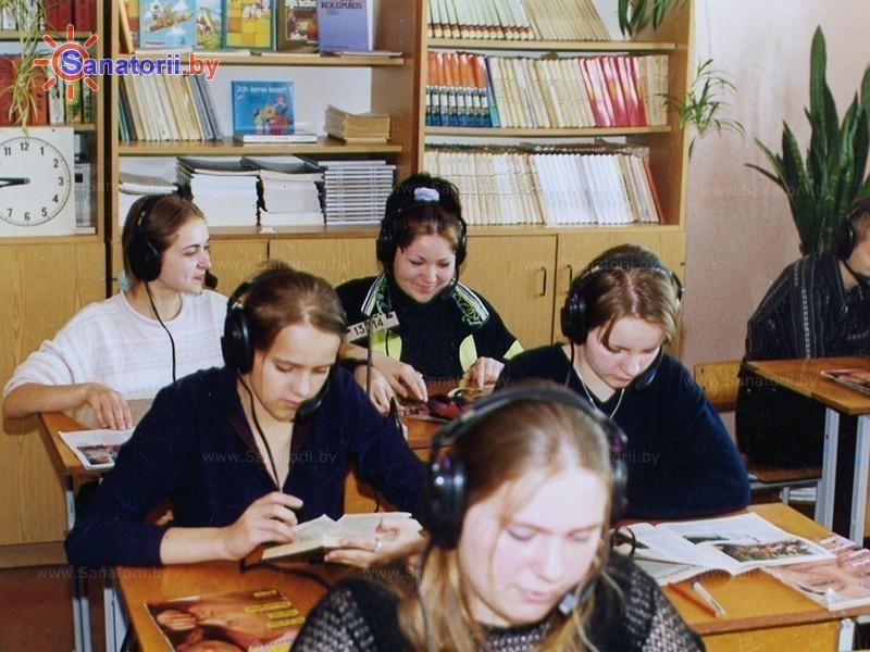 Санатории Белоруссии Беларуси - детский санаторий Случь - Школа