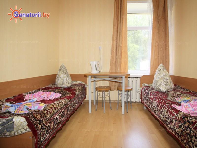 Санатории Белоруссии Беларуси - детский санаторий Случь - двухместный однокомнатный (корпус №3)