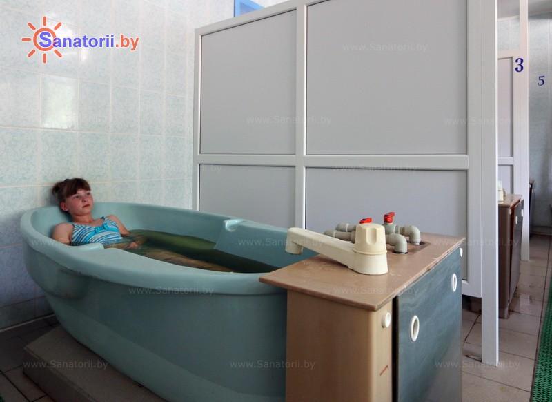 Санатории Белоруссии Беларуси - детский санаторий Случь - Ванны общие