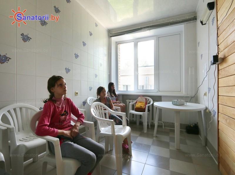 Санатории Белоруссии Беларуси - детский санаторий Случь - Ароматерапия