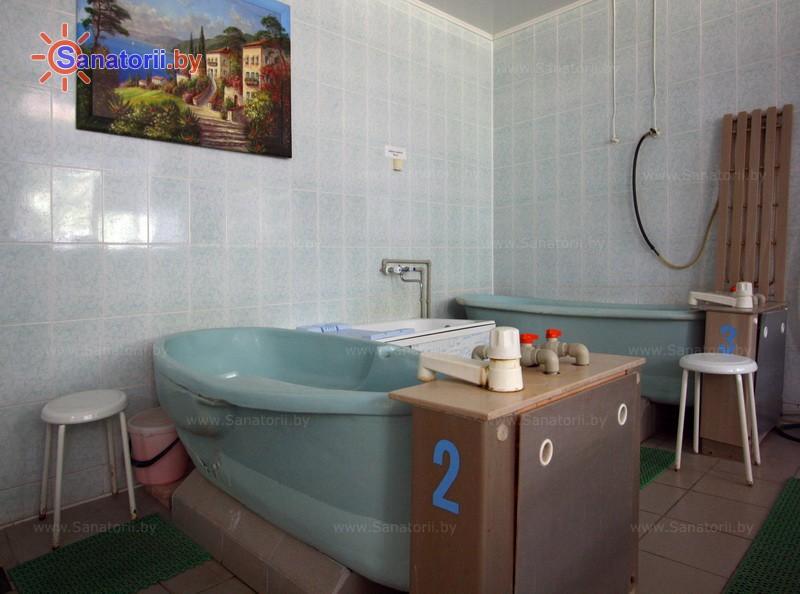 Санатории Белоруссии Беларуси - детский санаторий Случь - Ванны жемчужные