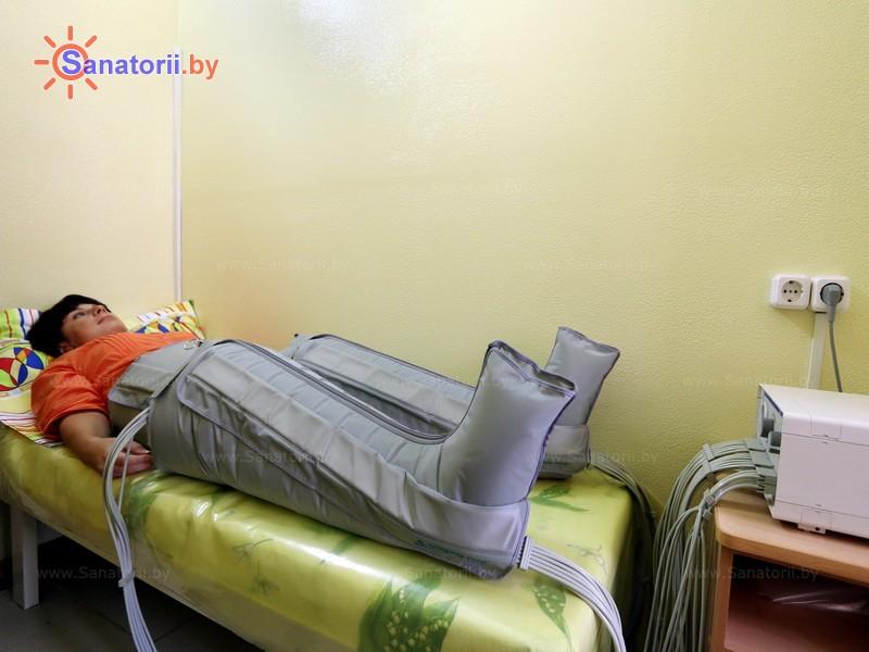 Санатории Белоруссии Беларуси - детский санаторий Солнышко - Компрессионная терапия
