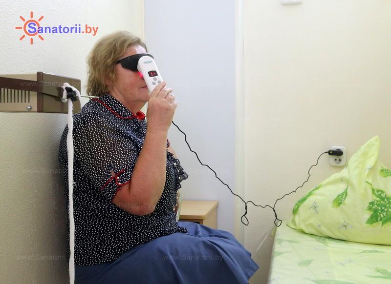 Санатории Белоруссии Беларуси - детский санаторий Солнышко - Лазерная терапия