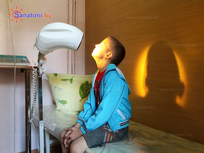 Санатории Белоруссии Беларуси - детский санаторий Солнышко - Светолечение
