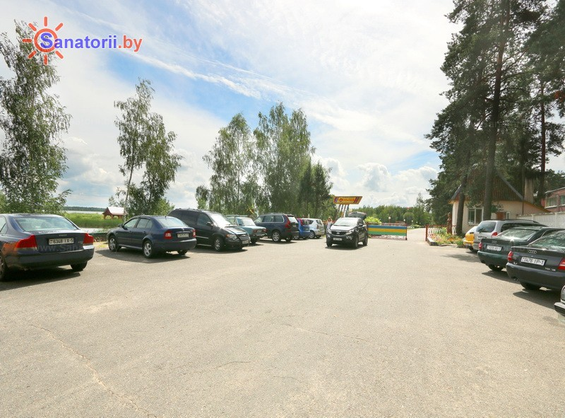 Санатории Белоруссии Беларуси - детский санаторий Солнышко - Парковка