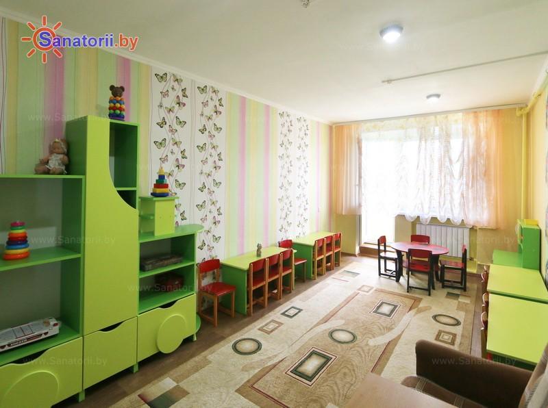 Санатории Белоруссии Беларуси - детский санаторий Солнышко - Детская комната