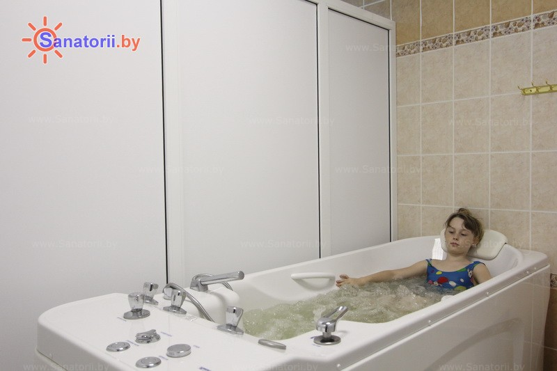 Санатории Белоруссии Беларуси - детский санаторий Росинка - Ванны жемчужные