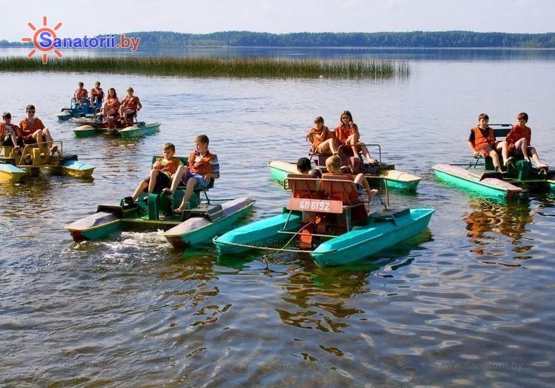 Санатории Белоруссии Беларуси - детский санаторий Росинка - Водоём