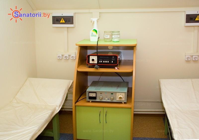 Санатории Белоруссии Беларуси - детский санаторий Росинка - Магнитотерапия