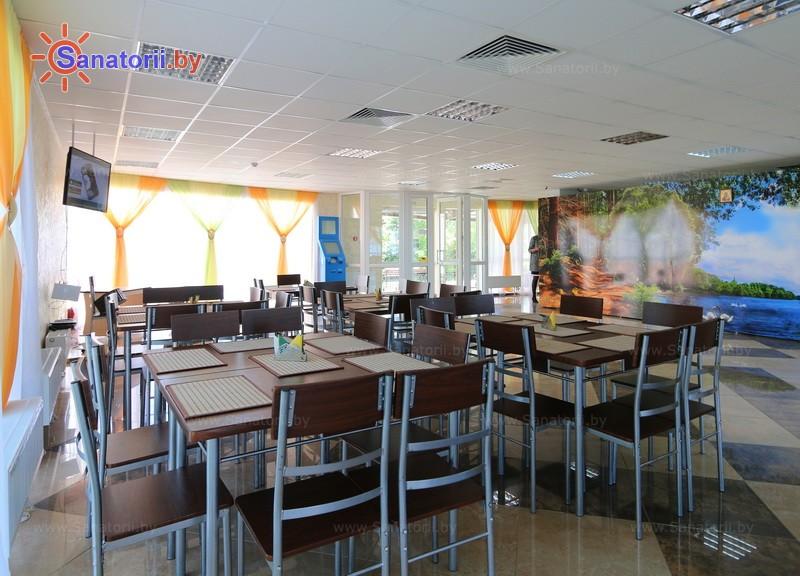 Санатории Белоруссии Беларуси - детский санаторий Росинка - Кафе