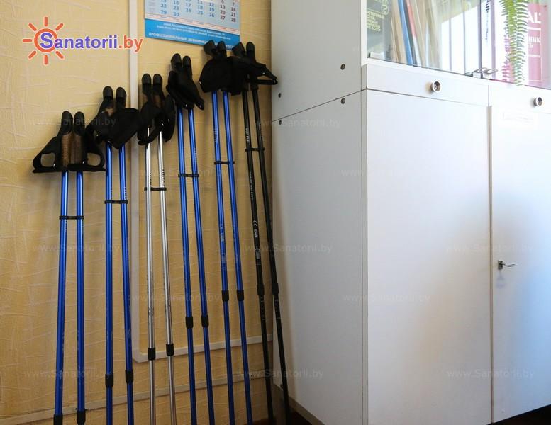 Санатории Белоруссии Беларуси - детский санаторий Росинка - Ходьба скандинавская