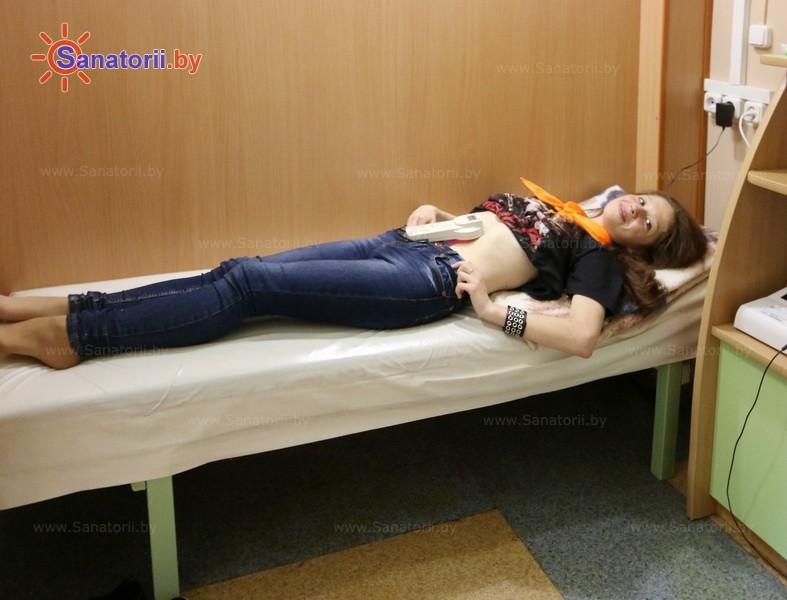 Санатории Белоруссии Беларуси - детский санаторий Росинка - Лазерная терапия