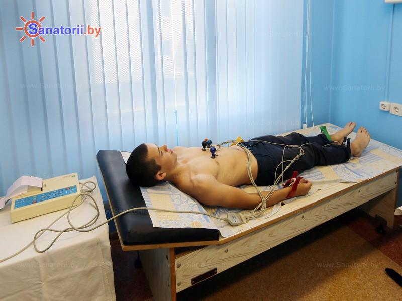 Санатории Белоруссии Беларуси - детский санаторий Росинка - Электрокардиография