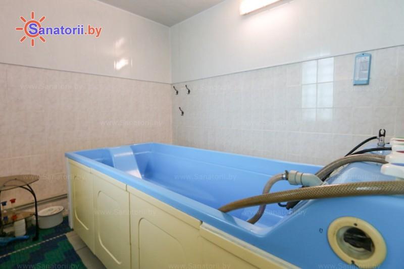 Санатории Белоруссии Беларуси - детский санаторий Росинка - Душ-массаж подводный