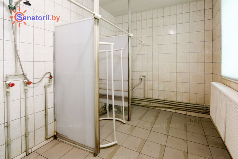 Санатории Белоруссии Беларуси - детский санаторий Росинка - Душ лечебный
