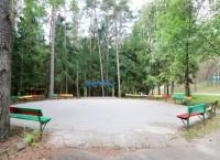 детский санаторий Налибокская пуща - Танцплощадка летняя