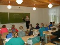 детский санаторий Налибокская пуща - Школа