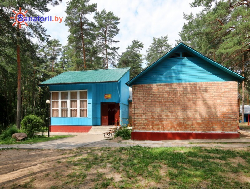 Санатории Белоруссии Беларуси - детский санаторий Налибокская пуща - спальный корпус №1