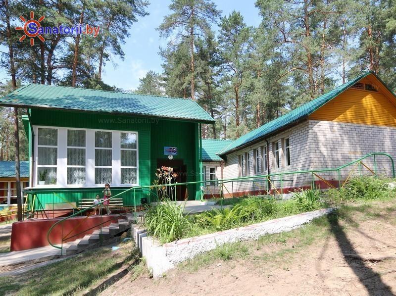 Санатории Белоруссии Беларуси - детский санаторий Налибокская пуща - спальный корпус №9