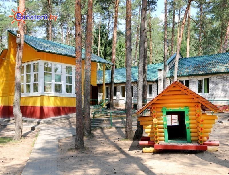 Санатории Белоруссии Беларуси - детский санаторий Налибокская пуща - спальный корпус №7