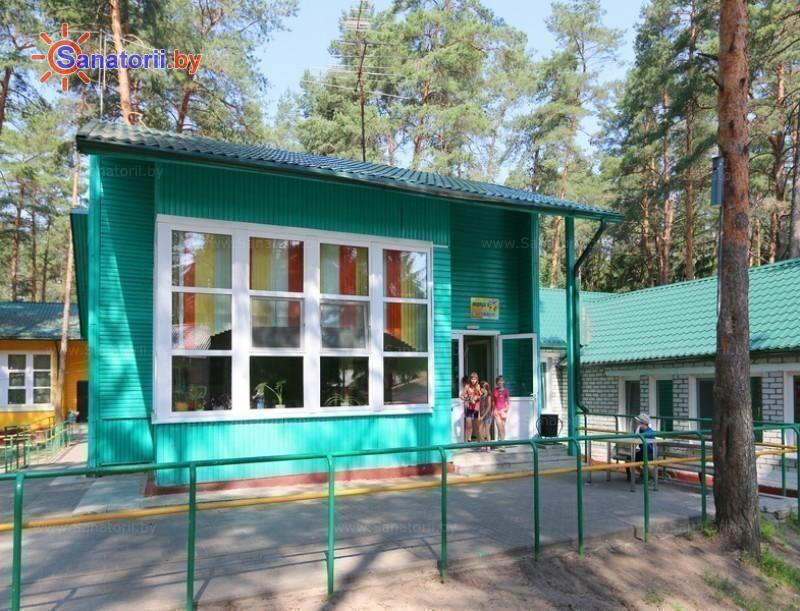 Санатории Белоруссии Беларуси - детский санаторий Налибокская пуща - спальный корпус №6