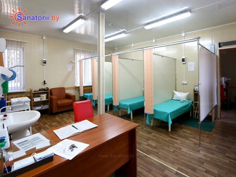 Санатории Белоруссии Беларуси - детский санаторий Налибокская пуща - Электролечение