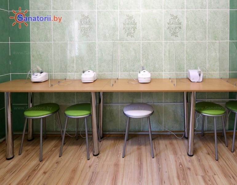 Санатории Белоруссии Беларуси - детский санаторий Налибокская пуща - Ингаляции (аэрозольтерапия)