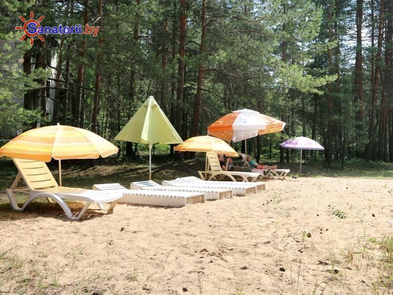 Санатории Белоруссии Беларуси - детский санаторий Налибокская пуща - Пляж