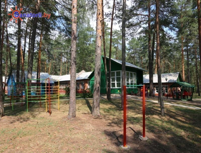 Санатории Белоруссии Беларуси - детский санаторий Налибокская пуща - Детская площадка