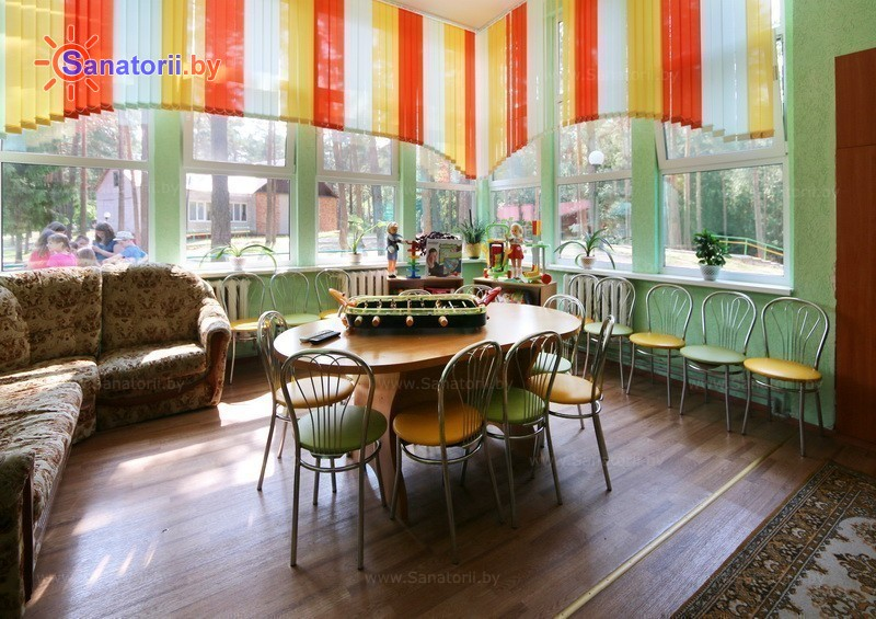 Санатории Белоруссии Беларуси - детский санаторий Налибокская пуща - Детская комната