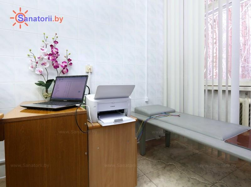 Санатории Белоруссии Беларуси - санаторий Неман-72 - Рефлексодиагностика