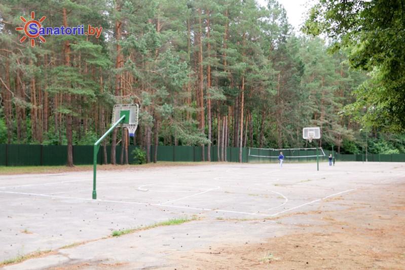 Санатории Белоруссии Беларуси - санаторий Неман-72 - Спортплощадка