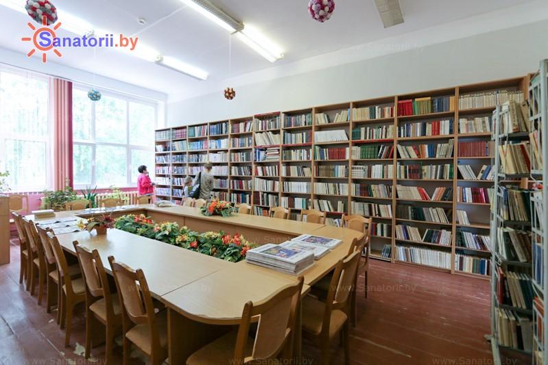 Санатории Белоруссии Беларуси - санаторий Неман-72 - Библиотека