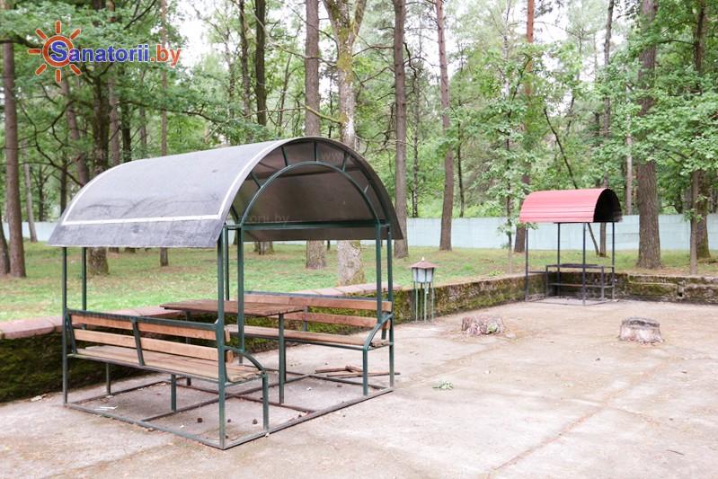 Санатории Белоруссии Беларуси - санаторий Неман-72 - Площадка для шашлыков