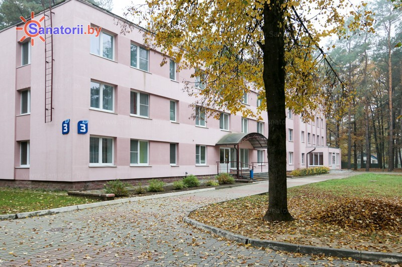 Санатории Белоруссии Беларуси - санаторий Неман-72 - спальный корпус №3