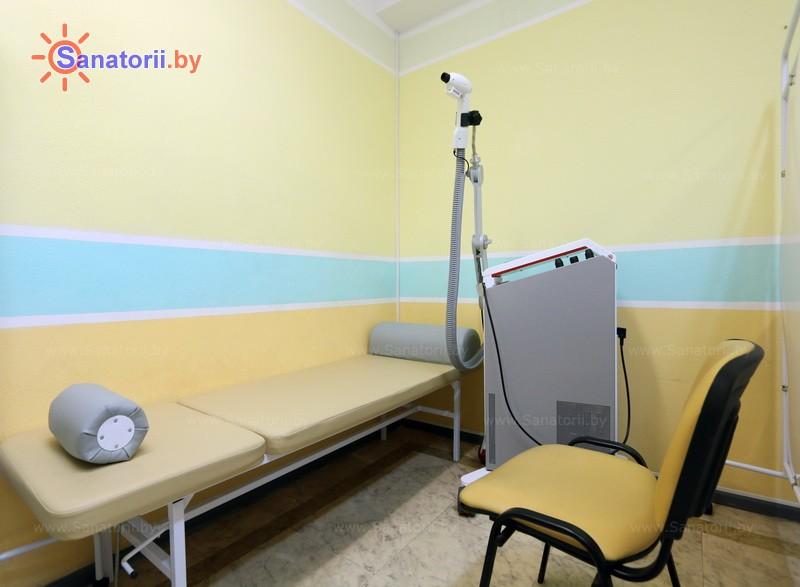 Санатории Белоруссии Беларуси - санаторий Неман-72 - Криотерапия