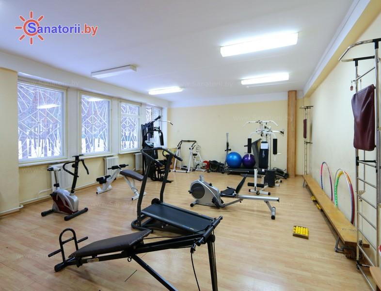 Санатории Белоруссии Беларуси - санаторий Неман-72 - Тренажерный зал (механотерапия)