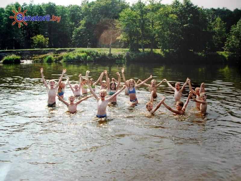 Санатории Белоруссии Беларуси - детский санаторий Свислочь - Водоём