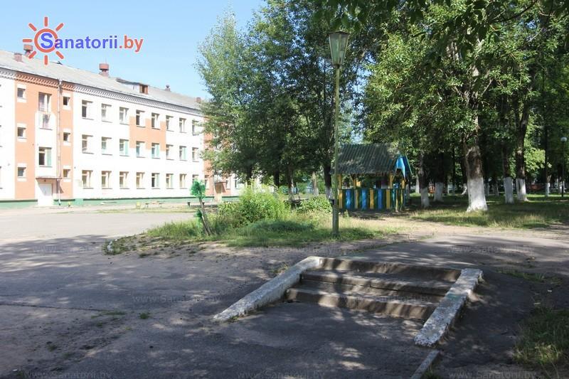 Санатории Белоруссии Беларуси - детский санаторий Свислочь - спальный корпус