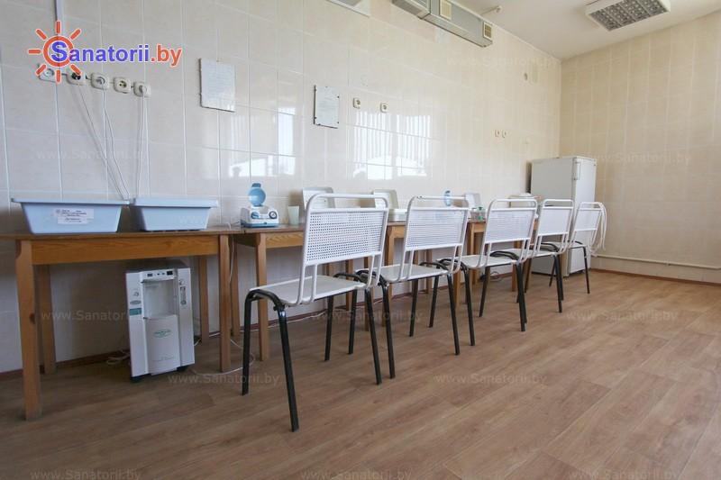 Санатории Белоруссии Беларуси - детский санаторий Свислочь - Ингаляции (аэрозольтерапия)